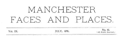 Facimile Title page of Manchester Faces and Places